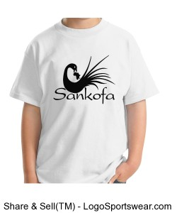 Sankofa Caribbean Cotton Youth T-shirt Design Zoom
